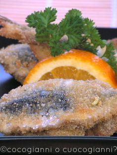 """beccafico"" (warbler) sardines ... Mediterranean sea's flavour from Sicily ... ""sarde alla beccafico"""