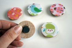 DIY magnets by fannie