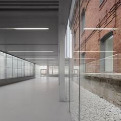 A civic and cultural centre inside an old Spanish prison in Palencia. By Exit Architects.