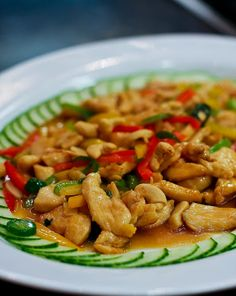 Thai Basil Chicken with Cashews Recipe on Yummly