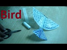 How to make a string guided flying bird - YouTube