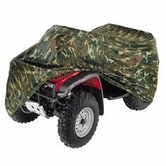ATV Cover INNOGLOW Automotive Duty UV Resistant Camouflage Covers Fit 86 Motorbike Vehicles Yamaha Grizzly Suzuki Polaris Sportsman Kawasaki Honda FourTrax CanAm Bombardier Arctic Cat >>> See this great product. (This is an affiliate link) Quad Bike, Atv Quad, Motorbike Cover, Atv Accessories, Harley Davidson Street Glide, Yamaha, Camouflage, Honda, Quad