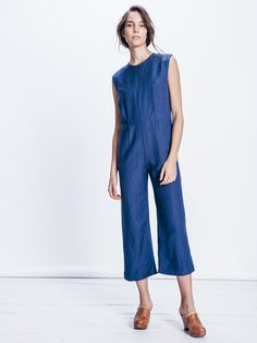 . Jumpsuits For Women, Playsuit, Look, Elegant Jumpsuit, Stylish, Pretty, How To Wear, Blue, Clothes