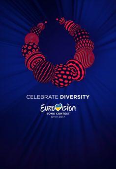 Ukraine is ready to Celebrate Diversity in 2017 Eurovision Logo, Eurovision 2014, Junior Eurovision, Eurovision France, Ukraine, Hetalia, Norton Show, 2014 Music, Bearded Lady