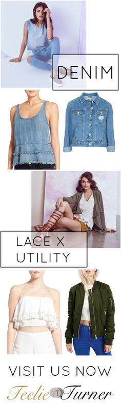 Teelie's Top Pick MIX AND MATCH OUTFIT IDEAS FOR SPRING. Try these: www.teelieturner.com We know it's exciting to try the latest trends for Spring. We also know that there's a bit of a problem – the perfect matching of outfits. #fashion