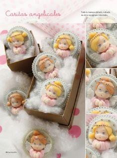 Angelitas - Porcelana Fría