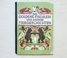 German Book Cover Animal Cover