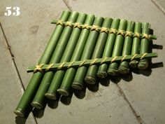 pan flute with bamboo