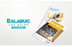Création d'une marque partagée et d'une stratégie de communication pour Balaruc-les-Bains
