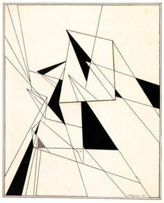Rodchenko. dibujos con regla y compás