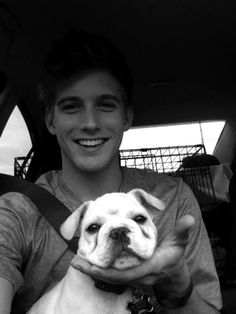 cute boy + cute puppy = ....   ...........click here to find out more     http://googydog.com