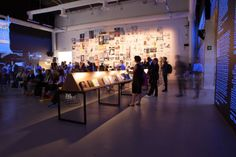 """Sala de exposición """"Elementos de #Arquitectura"""" de la Bienal de Venecia."""