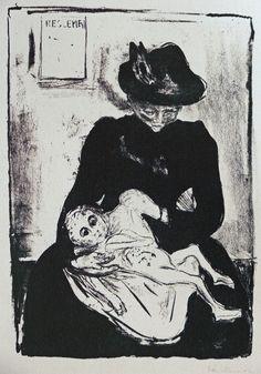 Edvard Munch, Inheritance, 1887.