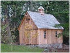 gambrel roof single car garage - Google Search
