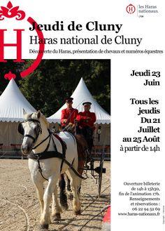 Les jeudis de Cluny du 21 juin au 25 août 2016 : http://clun.yt/29ZbRZO