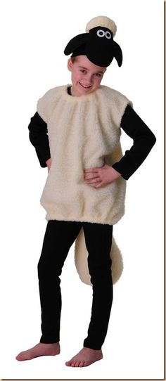 Shaun the Sheep Costume Kids Adult low Carnival Carnival prima