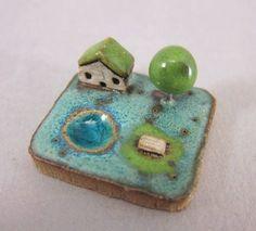 RESERVED ford neera RESERVED MyLand   Zen Blue  by elukka on Etsy
