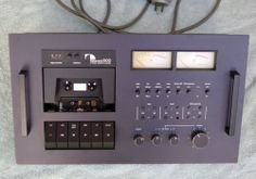 Nakamichi 600 Cassette Tape Deck 2 Head - www.remix-numerisation.fr