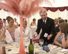 Andy Field Wedding Magician, Based In Gloucester