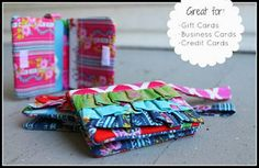 Free Purse Pattern and Tutorial - Ruffled Mini Wallet