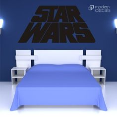 STAR WARS Decal  Kids Room  Nursery  Vinyl Wall Art by pinktoblue, $36.00