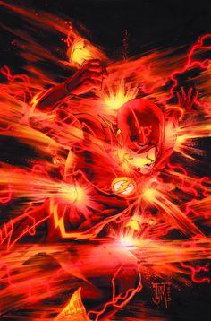 The Flash 20 by Francis Manapul DC Comics Flash Comics, Fun Comics, Marvel Dc Comics, Marvel Vs, Flash Barry Allen, Comic Books Art, Comic Art, Book Art, O Flash