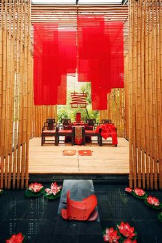 Wow how beautiful chinese inspired wedding asian inspiration sep wedding chinese wedding decororiental junglespirit Image collections