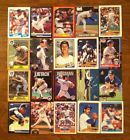 """For Sale: 1980'S-90'S MIXED LOT OF 20 """"MILWAUKEE BREWERS"""" TRADING CARDS http://sprtz.us/BrewersEBay"""