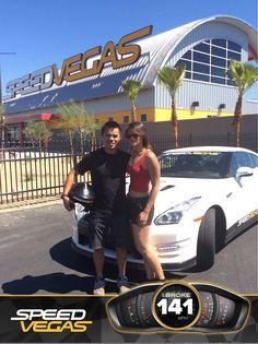 Experiencing Las Vegas at over 120 mph! #SPEEDVEGAS