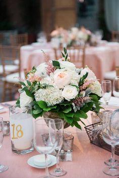 Featured Photographer: Robert and Kathleen Photography; wedding reception centerpiece