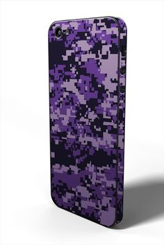 <Purple (紫) for iPhone 5> #iphone #tech #case #skin #accessory #fashion #geek #sexy #apple #technology #products #design #camouflage