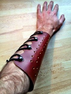 Archery Leather Armguard : 7 Steps (with Pictures) - Instructables