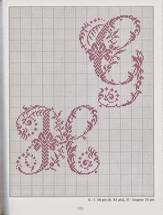 Blog dedicato al punto croce con mille schemi gratuiti, ricami e spiegazioni. Cross Stitch Alphabet Patterns, Embroidery Alphabet, Cross Stitch Letters, Just Cross Stitch, Modern Cross Stitch Patterns, Cross Stitch Charts, Cross Stitch Designs, Embroidery Patterns, Quilt Stitching