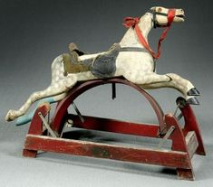 Why rocking horses played an important role in the past.