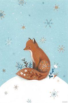 NINA很清新很可爱小动物插画作品-Nina Stajner [53P] (18).jpg