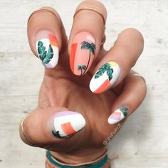 Image result for palm leaves nails