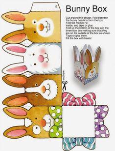 Decorações imprimíveis para Páscoa