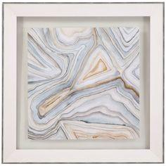 Bassett Mirror Thoroughly Modern Agate Abstract I 9900-648AEC