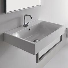 WS Bath Collections WS Bath Collections Kerasan Cento Wall Mounted / Vessel Bathroom Sink