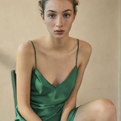 Check out the latest arrivals in women's lingerie at OYSHO online. Try our new underwear or lingerie sets. Spring Summer 2020 trends with just one click! Green Lingerie, French Lingerie, Oysho Lingerie, Lingerie Set, Green Bodysuit, Lace Bodysuit, New Underwear, Olivia Von Halle, Bodysuit Fashion