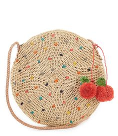 Shop for Mar Y Sol Alma Straw Canteen Cross-Body Bag at Dillardscom Visit Dillardscom to find clothing, accessories, shoes, cosmetics & more The Style of Your Life - Makeup Products Crochet Beach Bags, Love Crochet, Beautiful Crochet, Crochet Bags, Crochet Handbags, Crochet Purses, Purse Patterns, Crochet Ideas, Diy Bags