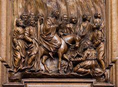https://flic.kr/p/PHunDh | Siehe, dein König kommt zu dir; ein Gerechter und ein Retter ist er | Chorgestühl St. Urban, Schweiz (Kanton Luzern)