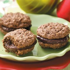 Homemade Chocolate Sandwich Cookies Recipe -Our five kids love having these cookies in their lunch boxes and keep asking when I'll make them again. The recipe comes from a family cookbook that was put together for one of our family reunions.