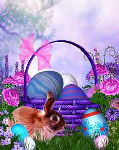 Create some festive Easter scenes with these cool backgrounds. Several Easter tubes and scene clusters are included.