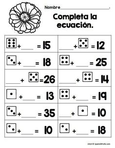 Pin This! 2nd Grade math worksheets in Spanish for bilingual, dual language and Spanish immersion classes. 40 Printables.