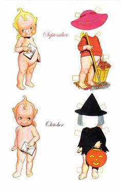 HOLIDAY KEWPIES by Tom Tierney **September**October** 3 of 7