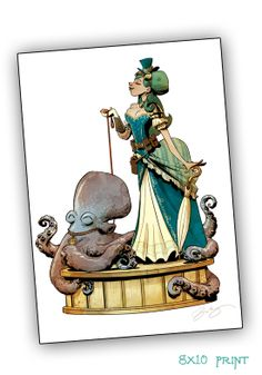 Otto and Victoria: Walking your Octopus Exquisite Collectible Figure | Indiegogo
