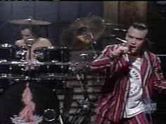 Faith No More - Epic (live SNL)  I remember staying up late to watch this and record it on VHS!!!  Looooooove it!!!