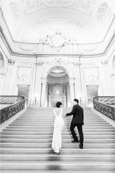 San Francisco City Hall Wedding   SF   Bay Area   Blueberry Photography