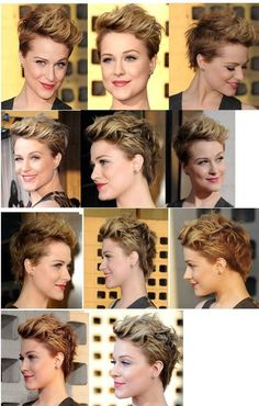 Evan Rachel Wood rockin' a pixie - MUST DO!